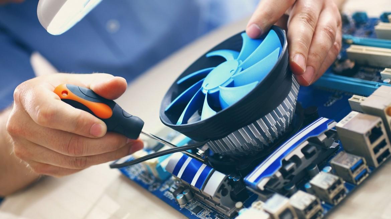 Anakart fan onarım ve yenileme işlemi